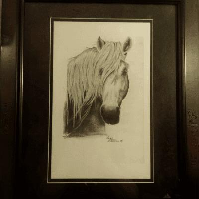 "Amazing Framed Drew Kasunic Print ""The way we were""."