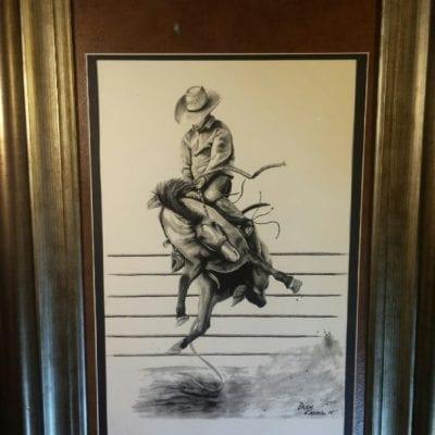 Western Realism Western Pleasure drawing by Drew Kasunic